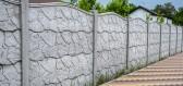 O betonový plot se nemusíte starat, a to je jeho přední výhoda
