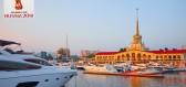 Soči - ruská Riviéra, nejdelší město Evropy