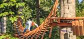 Lanový park – zajímavá zábava, která posílí vaše svaly a otestuje rovnováhu