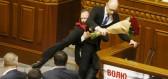 Ukrajinské parlamentní rvačky
