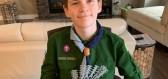 Teprve třináctiletý chlapec podpořil svým vynálezem sestry a lékaře pečující o pacienty s koronavirem