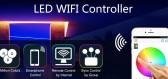 WIFI LED Controller - jak na levnější variantu plně funkčních SMART LED pásků