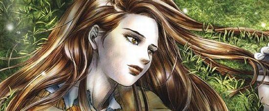 Bella a Edward jsou kreslení! Vychází komiks Stmívání.