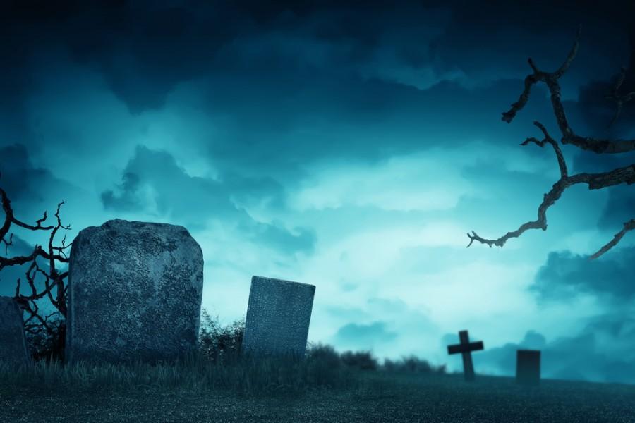 Strašidelný hřbitov