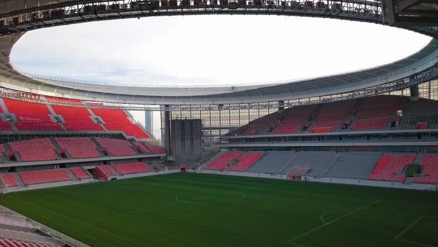 Nový stadion Centralnyj