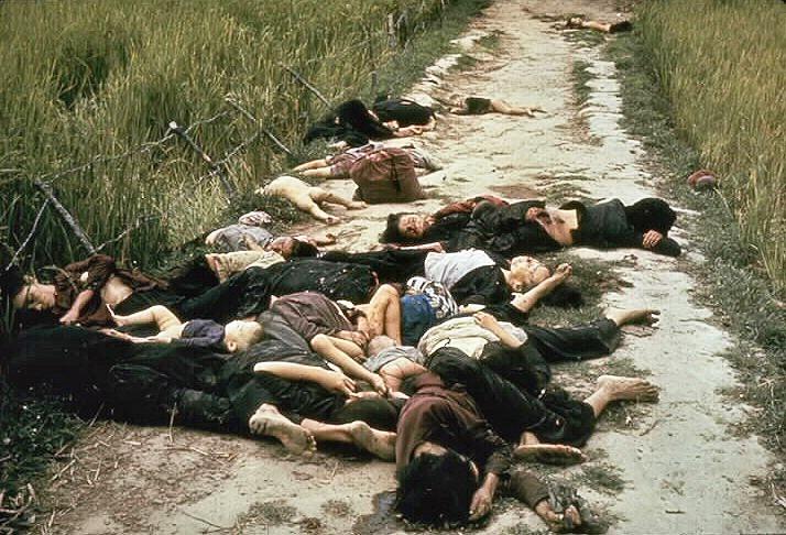 Mrtví vietnamští civilisté v My Lai