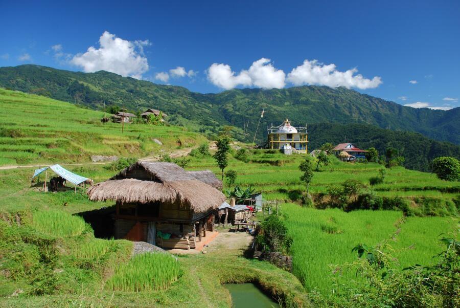 Malebné vesničky na začátku cesty