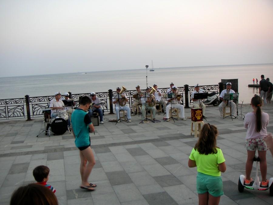 Promenáda u Černého moře