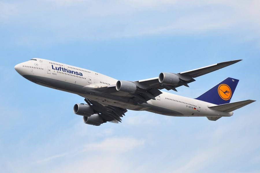 Boeng 747-800 v majetku Lufthansy