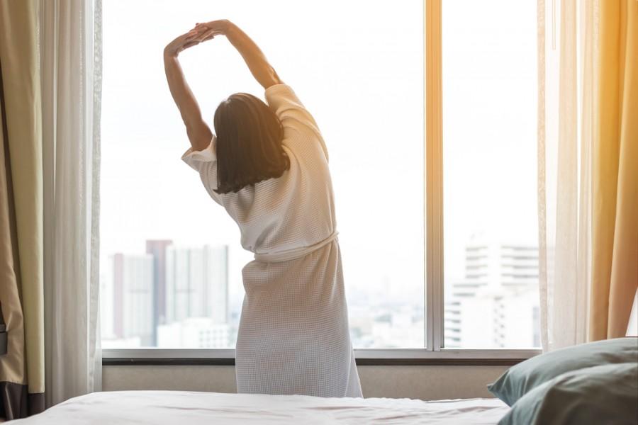 Protáhnout se po ránu není vůbec ke škodě