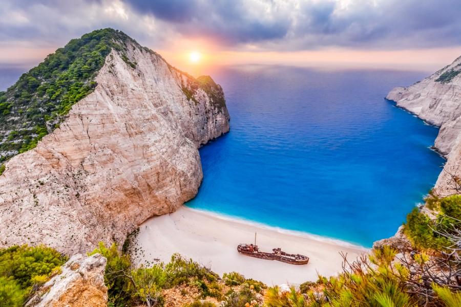 Zakynthos je znám krásnými plážemi