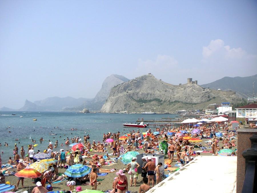 Městská pláž Sudak