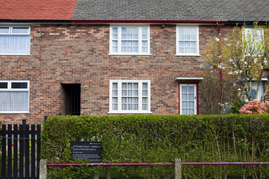 Dům, kde dospíval Paul McCartney