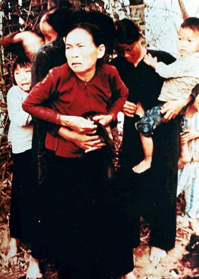 Vietnamci před zahájením palby