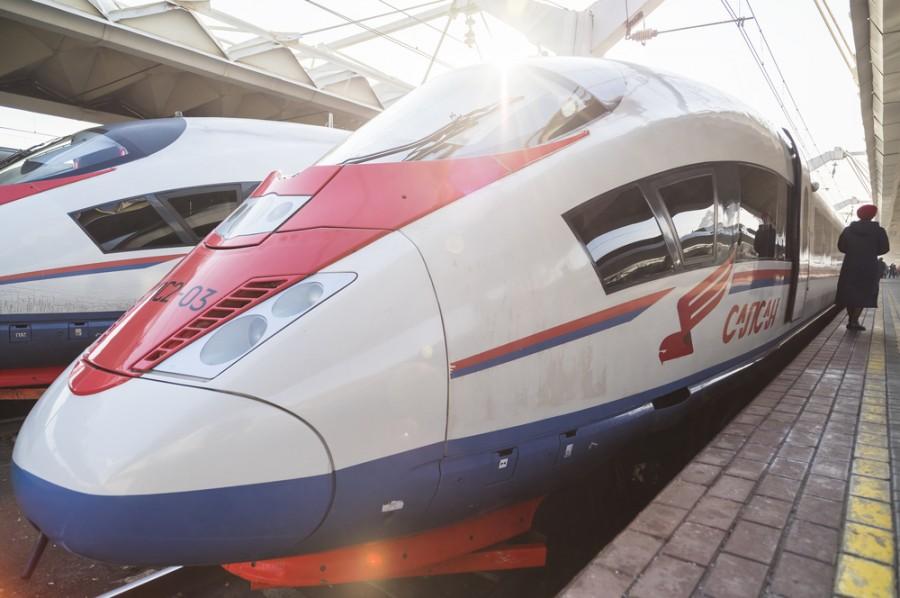 Král ruských železnic Sapsan. Zatím.