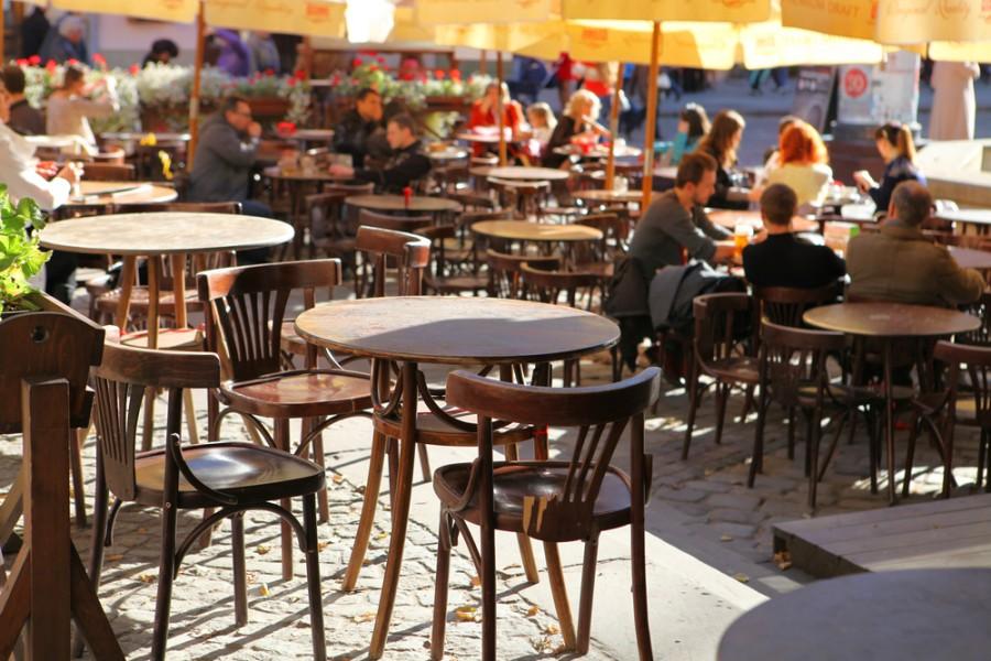 Ve Lvově najdete příjemné kavárny