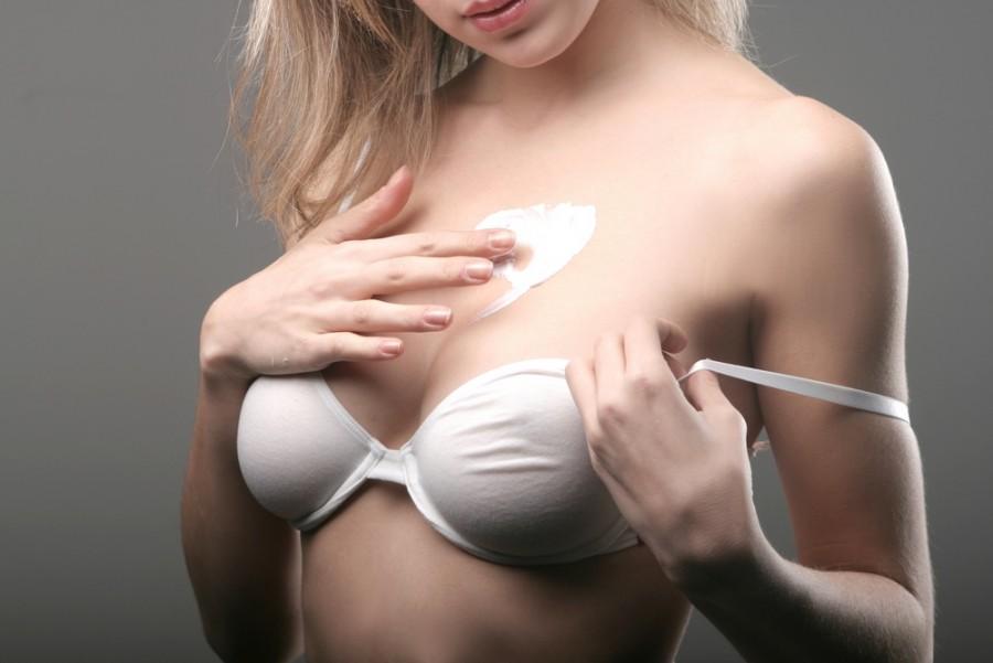 фото грудь беременных