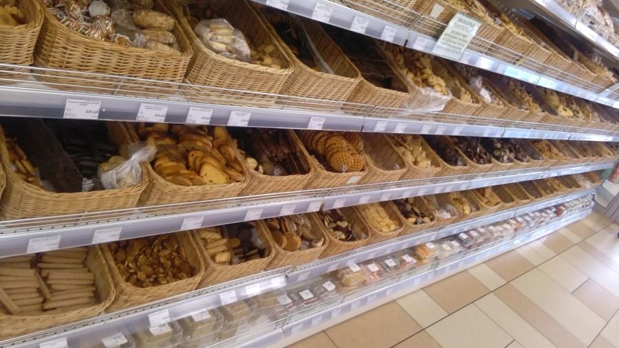 Pro nás trochu zvláštní oddělení sušenek