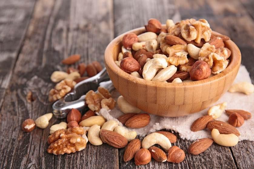 Ořechy - zdravé a energetický vhodné
