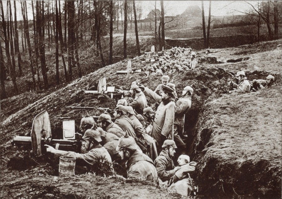 Pruští vojáci v I. Světové válce