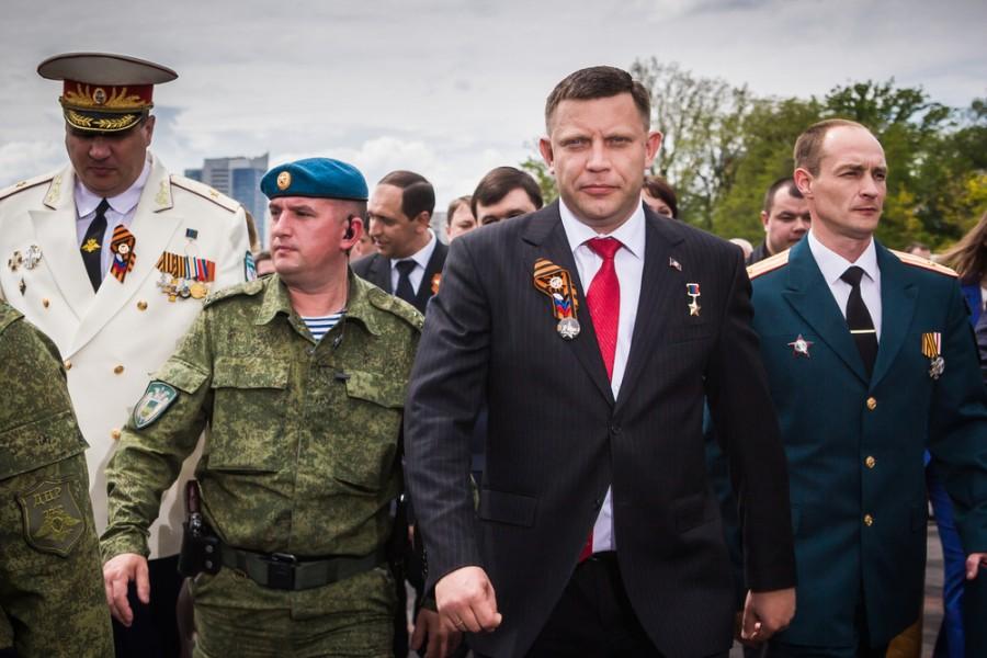 Prezidenta Zacharčenka mají místní rádi