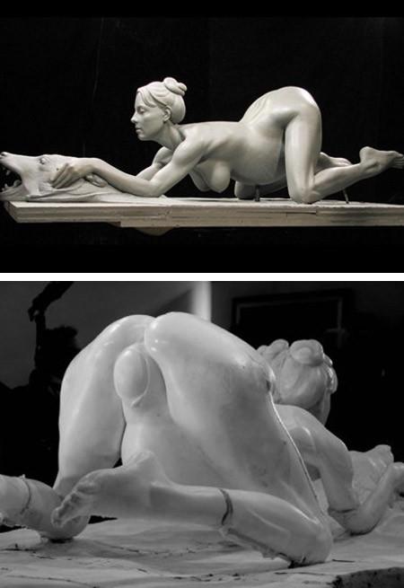 порно скульптура фото