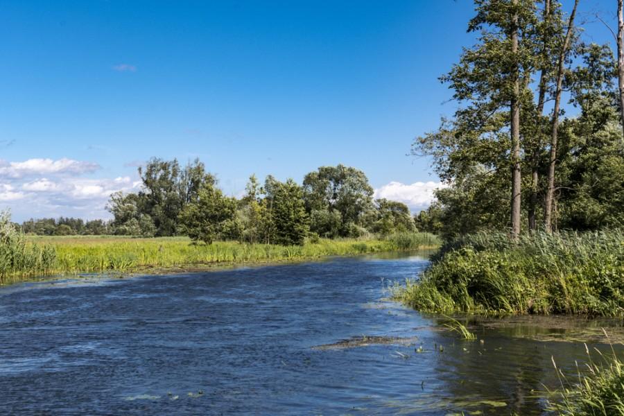 Řeka Spréva protéká celou Lužicí