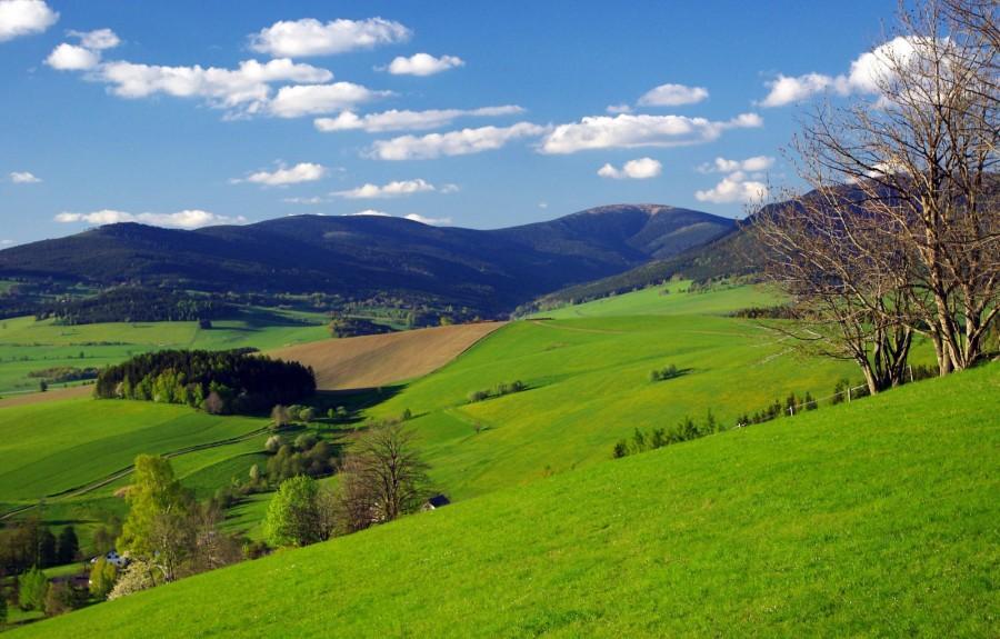 Kralický Sněžník - severní hranice Moravy (foto Marek Stránský)