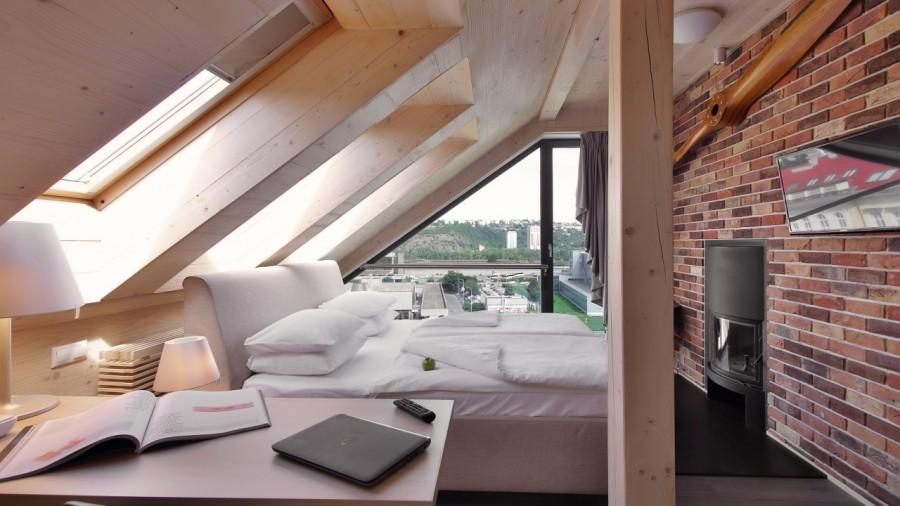 Pokoj s výhledem na Prahu