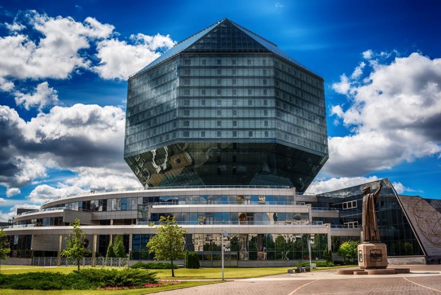 Knihovna v Minsku